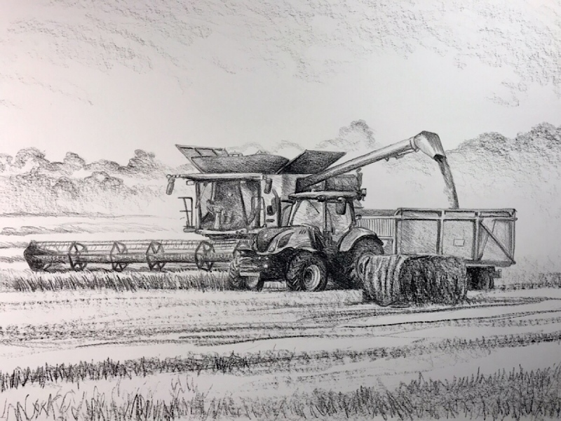 Day 19, 594 x 420mm, SOLD